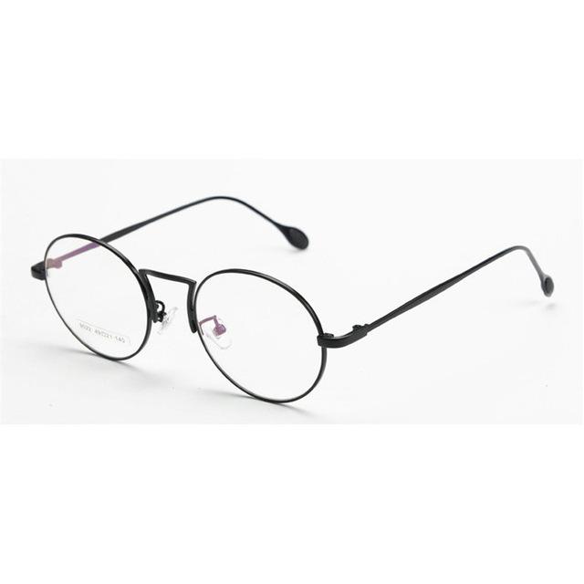 640x640 Mincl Designer Woman Glasses Optical Frames Metal Round Glasses