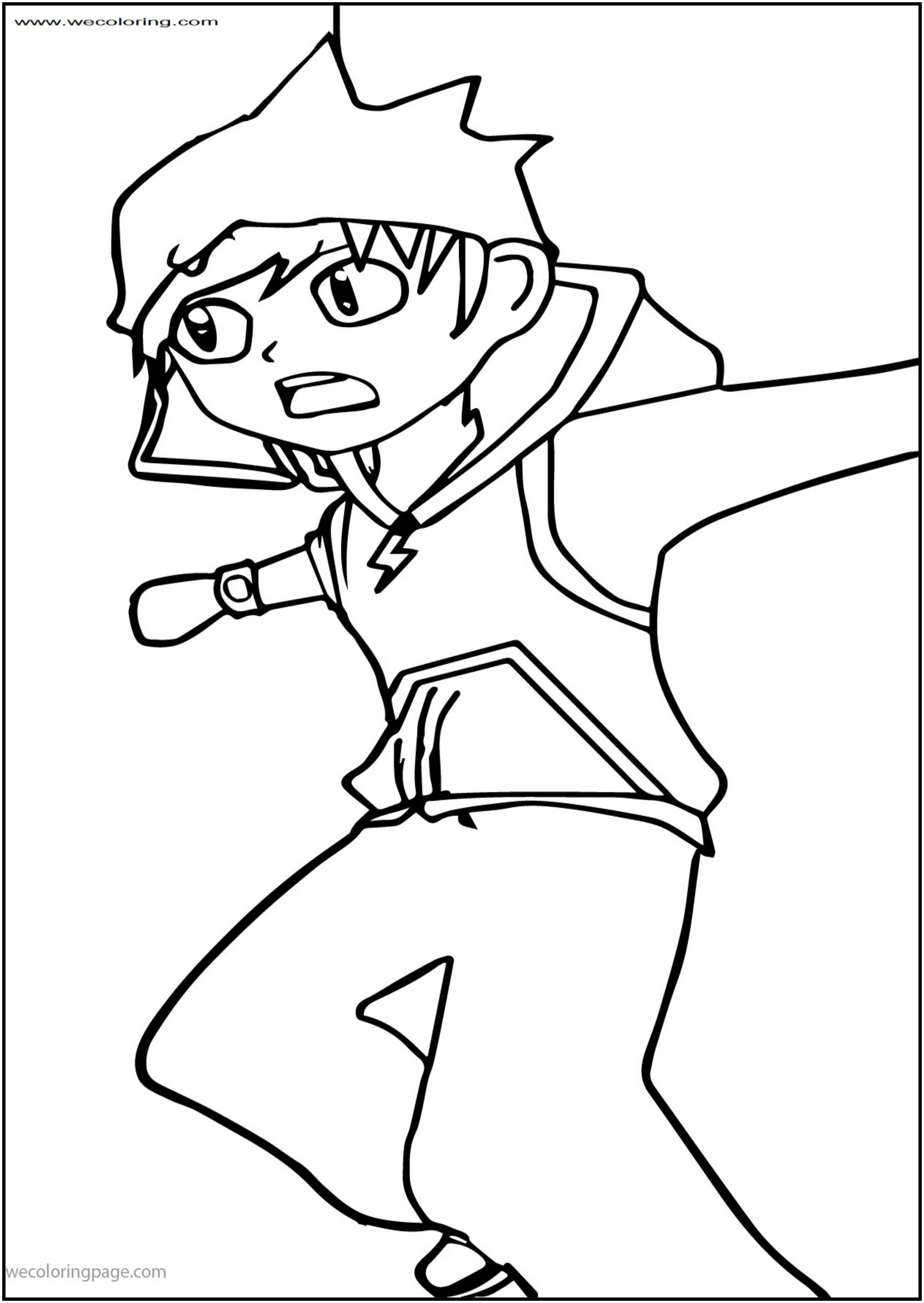 2510x3538 Boboiboy The Movie Entering The Split Free Printable Coloring Page