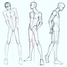 236x236 Male Standing Poses Reference Art Ref Standing