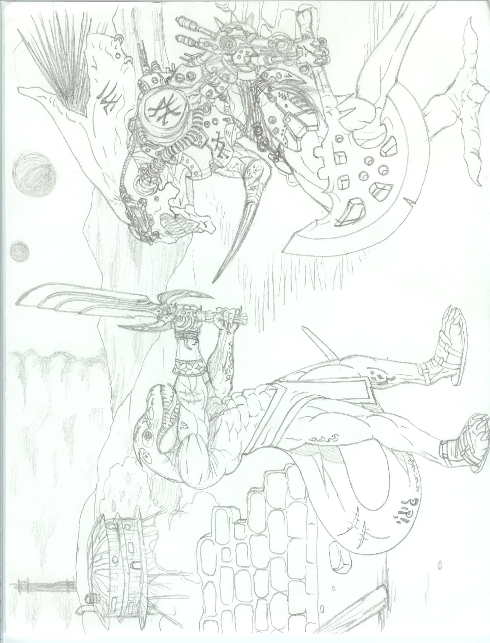 1633x2143 Standoff Sketch By Josephking
