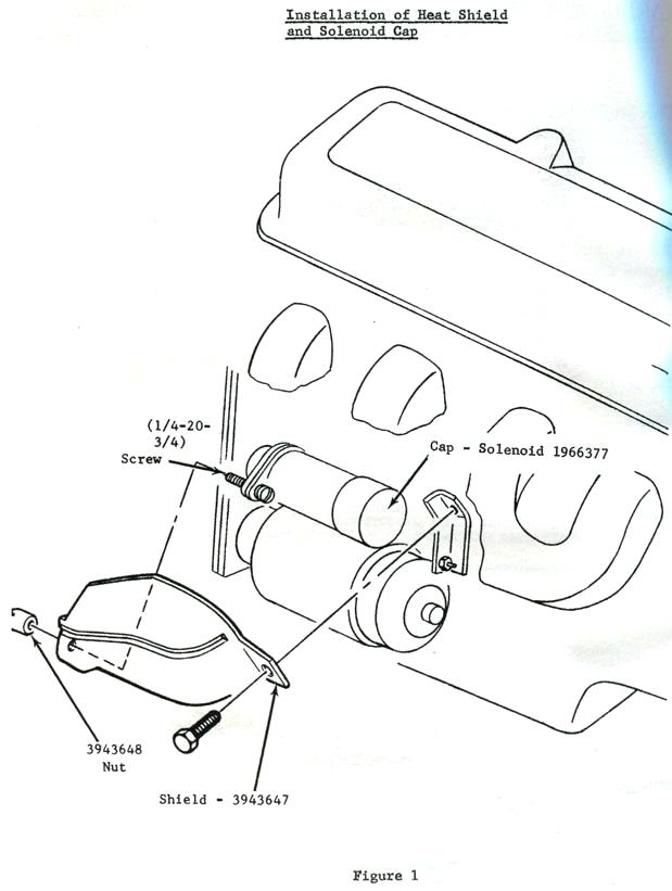 619x821 C3 Corvette Starter Wiring Diagram Corvette Heat Shield