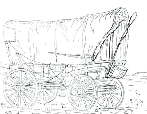 500x389 Wagon Coloring Pages Wagon Coloring Page Wagon Coloring Pages