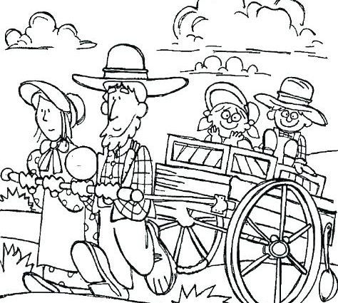 474x425 Station Wagon Coloring Pages Wagon Coloring Page Chuck Wagon