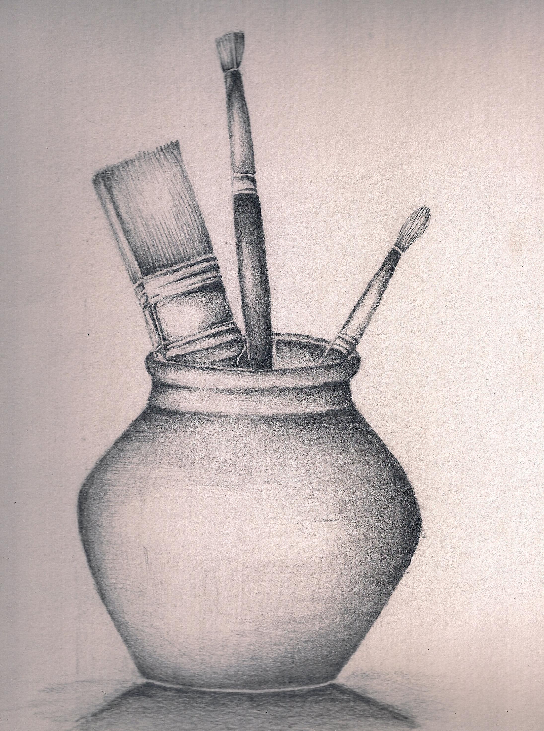 2191x2947 Still Life Black And White Drawing Sketch Still Life Easy Still