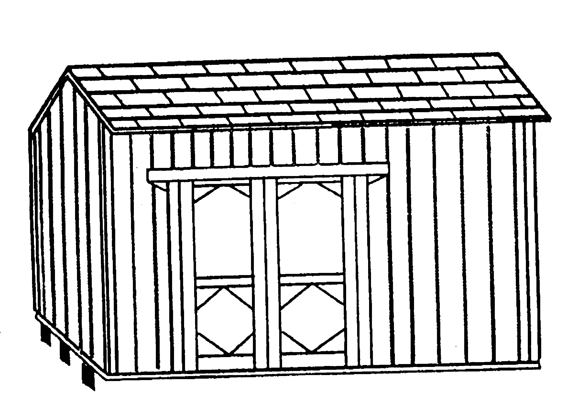 2418x1735 Premade Storage Sheds Drawing Plans For Storage Shed