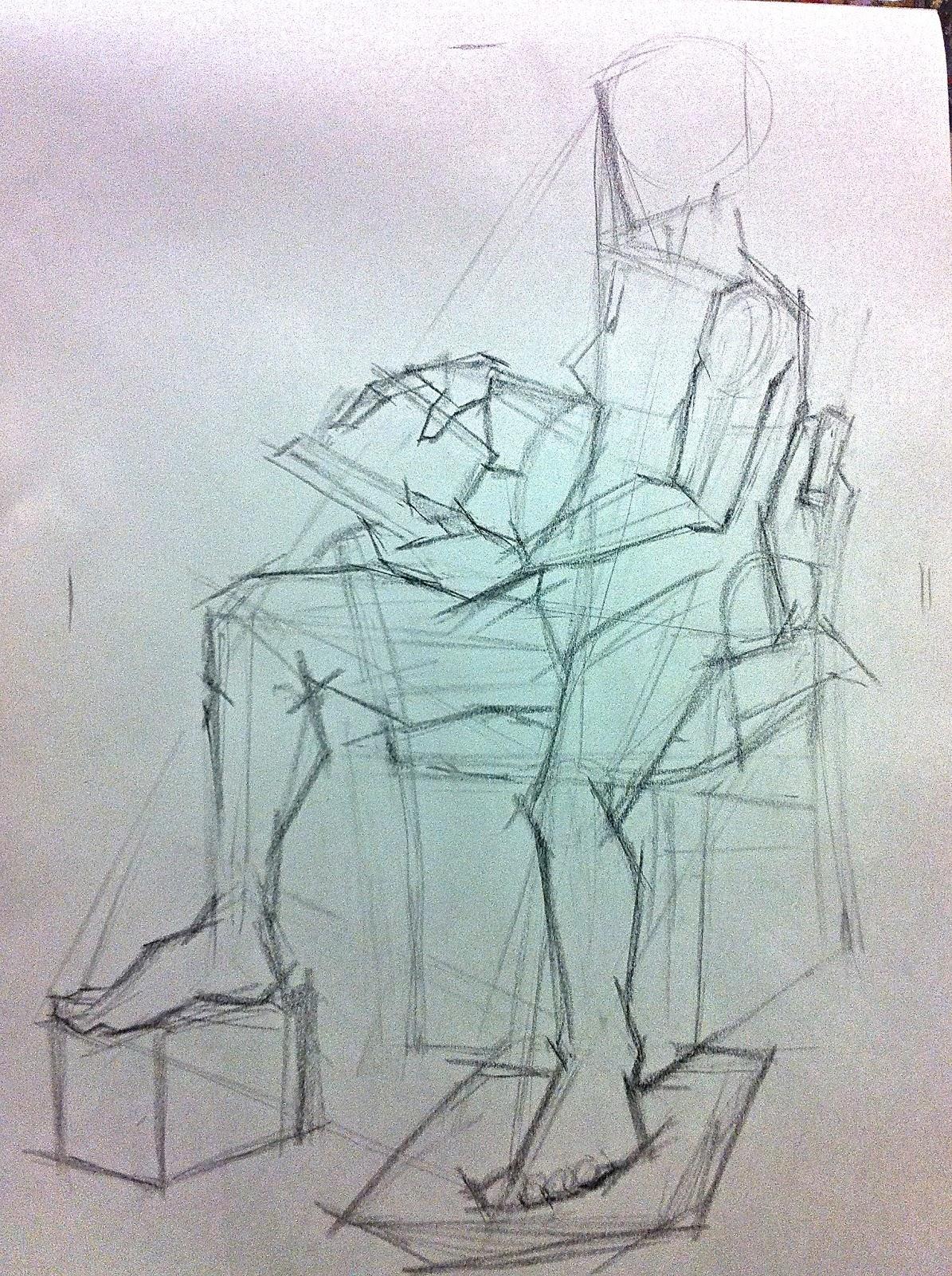 1195x1600 1st Semester Blog Measured Drawings