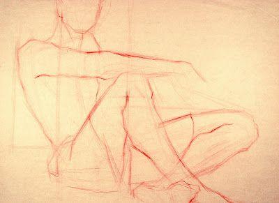 400x291 Figure Drawing Professor Construction Drawing (Straight Line