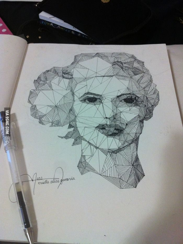 700x937 My Art Project Draw Only With Straight Lines