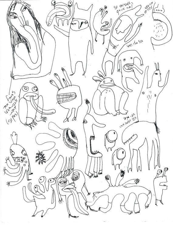 Stranger Things Monster Drawing