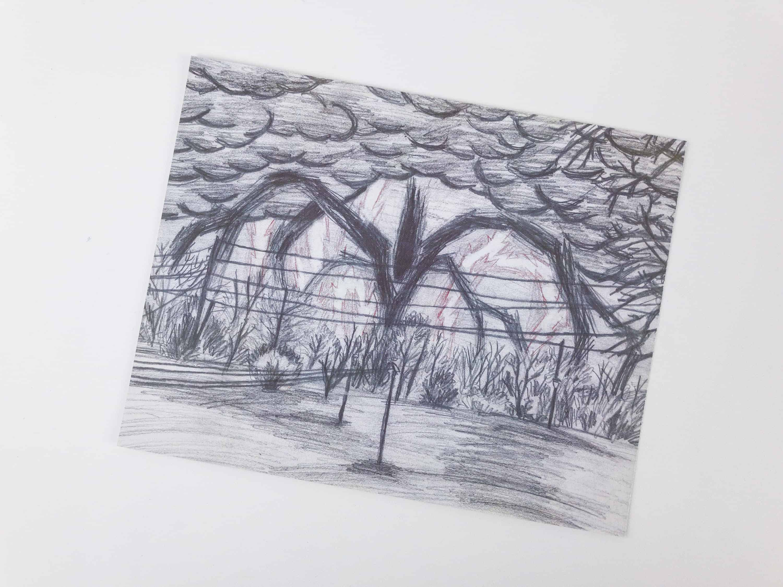 Stranger Things Monster Drawing At Getdrawings Free Download
