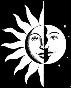 236x292 Moon Face From An 1800s Children's Magazine. Public Domain Graphic