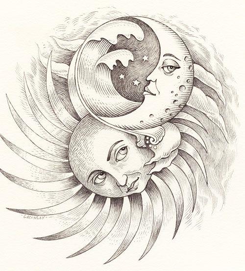 500x553 59 Best Moon Sun Stars Images On Sun Moon Stars,