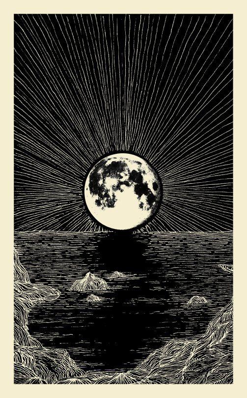 503x810 Theo Gosselin Art In General Tarot, Drawings And Moon
