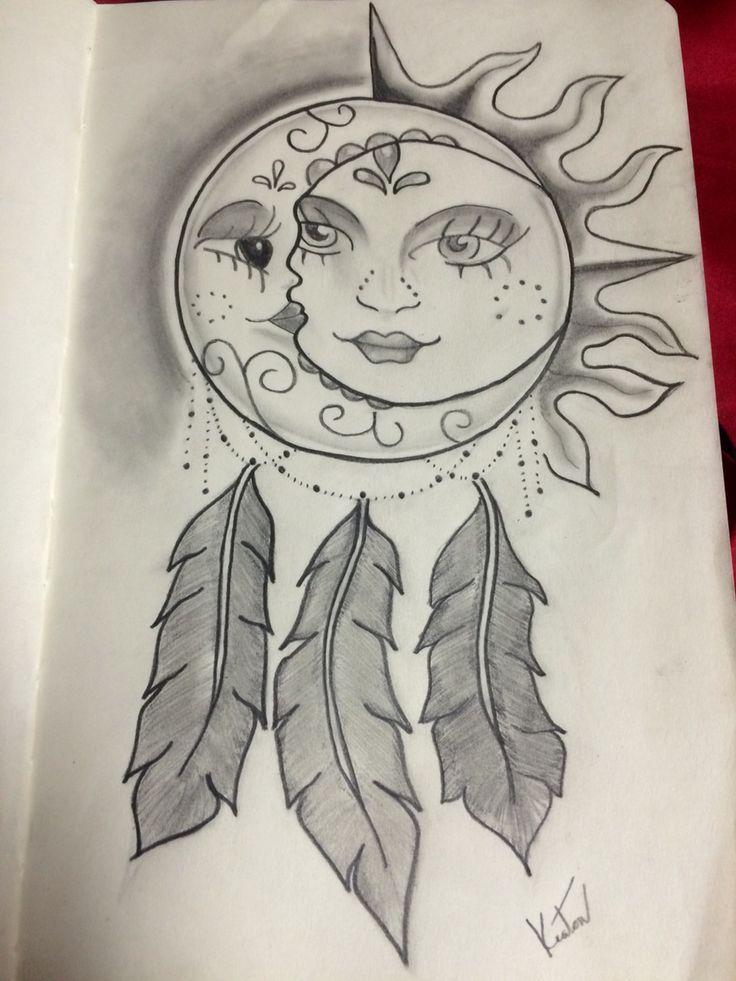 736x981 Sun And Moon Dreamcatcher