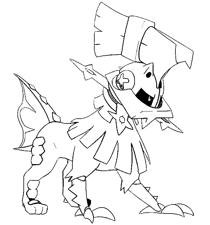 699x747 Coloring Pages Pokemon Sun And Moon Drawing