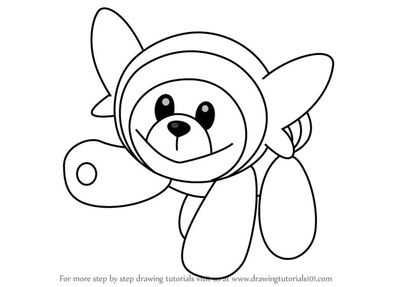 800x567 Learn How To Draw Stufful From Pokemon Sun And Moon Sun