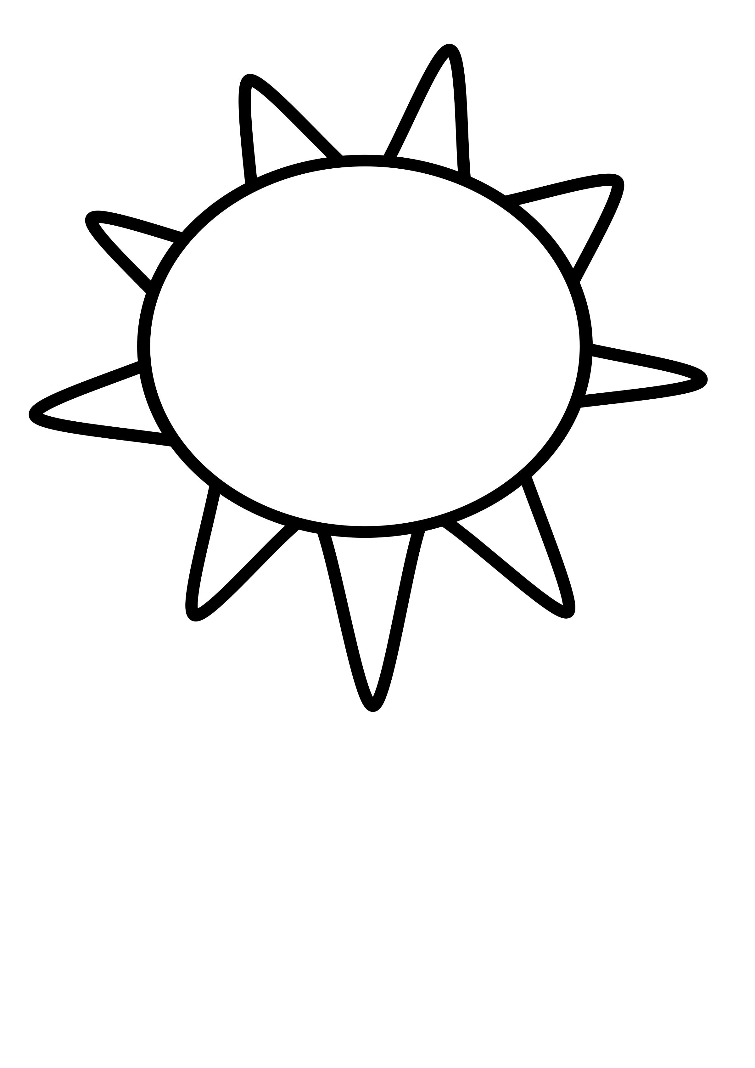 2400x3394 Sun Outline Icons Png