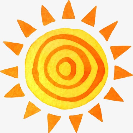 451x449 Drawing Sun Pattern, Watercolor, Sun, Sunlight Png And Vector