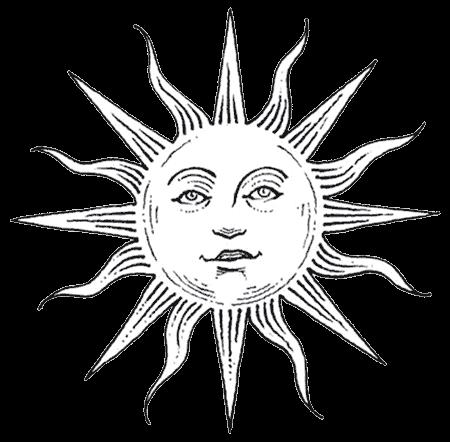 450x442 Drawn Sun Transparent