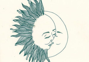 300x210 Drawings Drawing Ideas Moon And Sun Drawing Luxury Sun And Moon