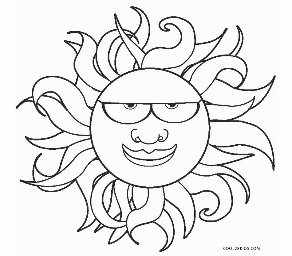 950x835 Free Printable Sun Coloring Pages For Kids Cool2bkids