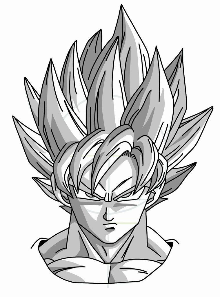759x1024 Nice Cool Drawings Of Dragon Ball Z 2 How To Draw Dragon Ball Z