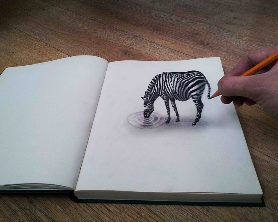 960x768 Super Cool 3d Drawings Ii