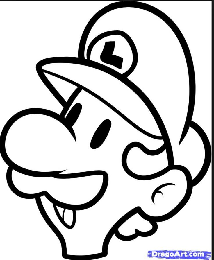 Super Mario Drawing Step By Step