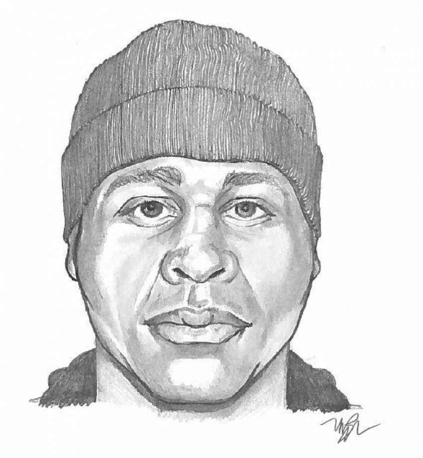 850x920 Sketch Of Possible Burglary Suspect Released By Stamford Police