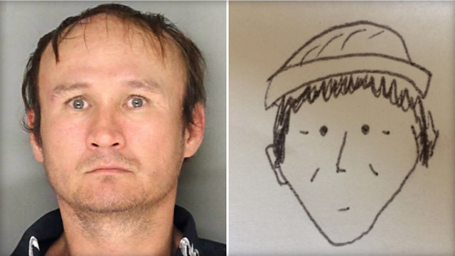 640x360 Nailed It Very Amateur Suspect Sketch Actually Leads To Arrest