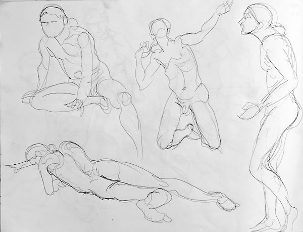 600x459 Figure Drawing Quick Poses Archives