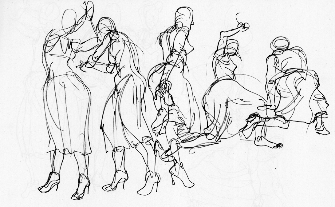 1090x673 Collection Of Clothed Gesture Drawing High Quality, Free