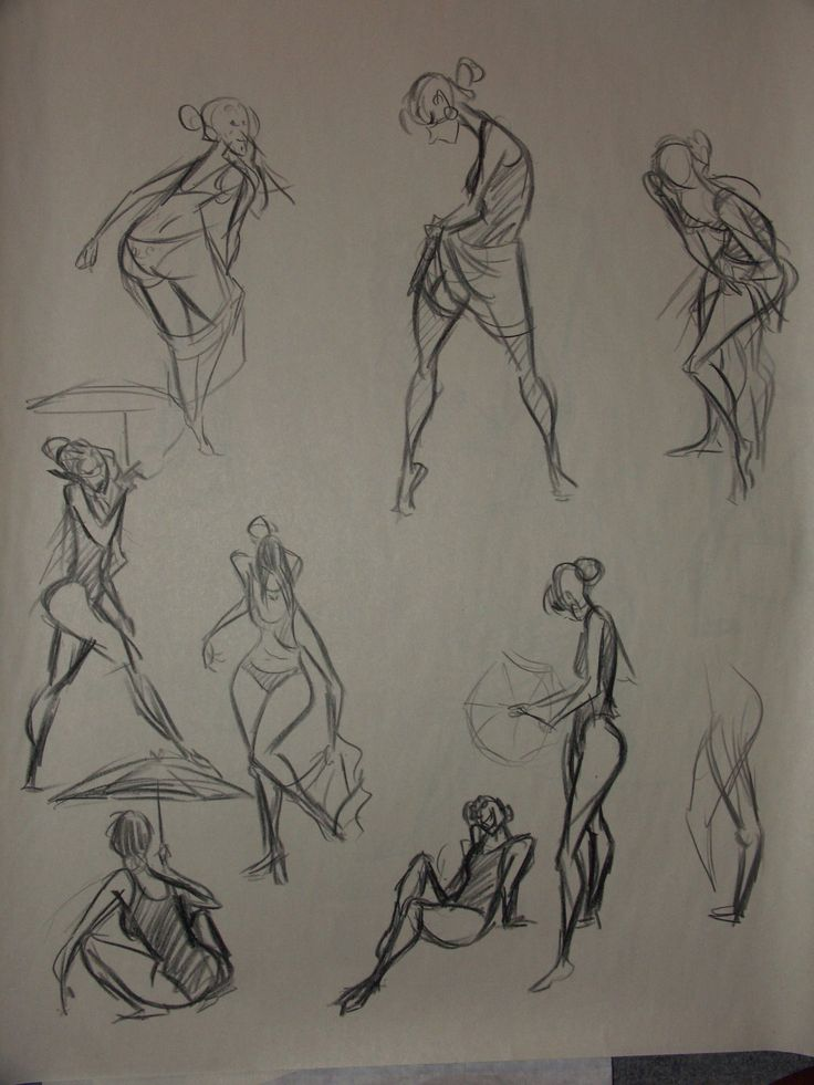 736x981 53 Best Art Resources Gesture Drawing Images
