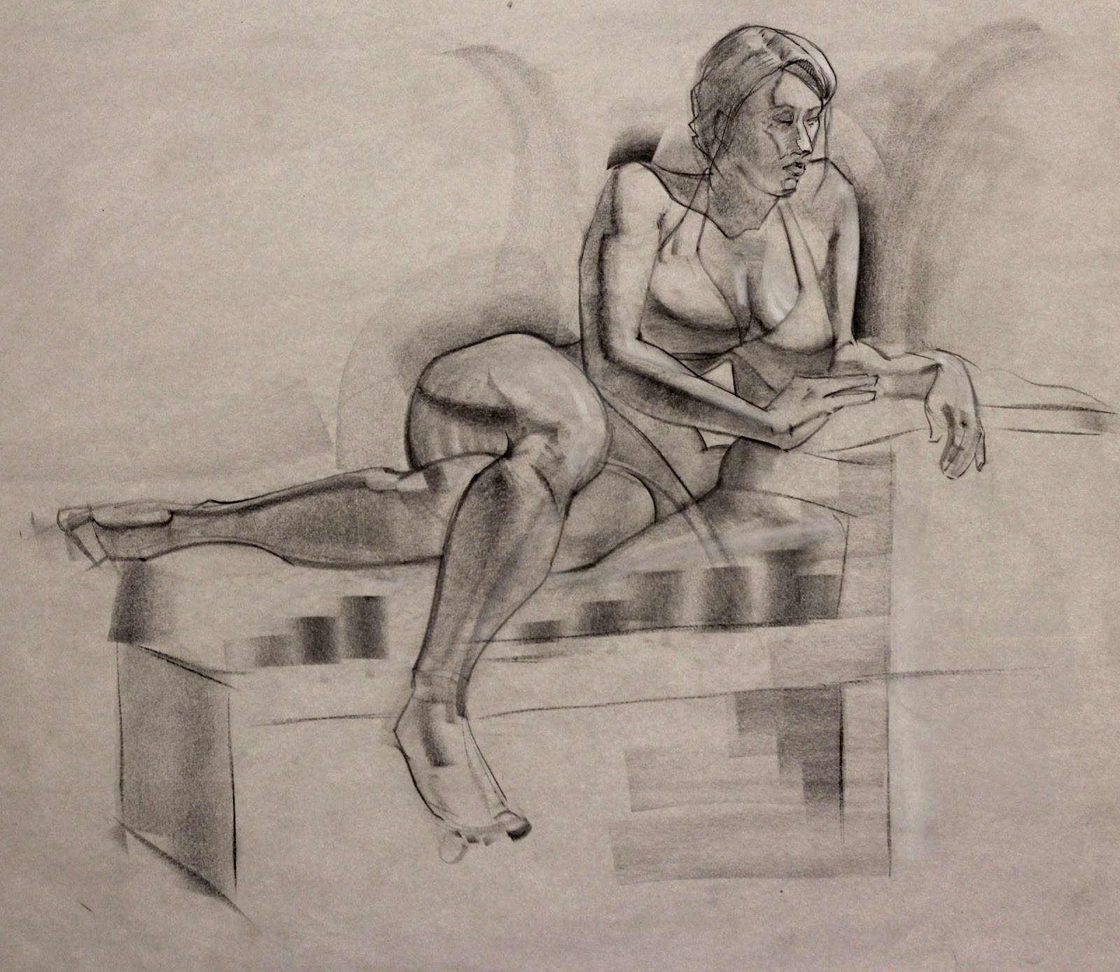 1600x1388 The Art Of Renee Bates Gesture Drawing!