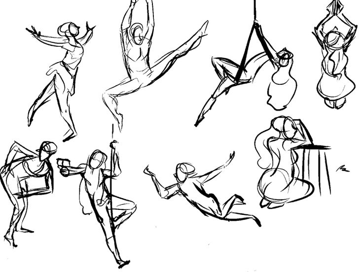 736x552 53 Best Art Resources Gesture Drawing Images