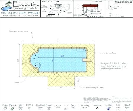 Swimming Pool Drawing Details Pdf at GetDrawings.com | Free ...