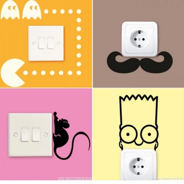 600x600 40 Cute And Creative Home Switchboard Art Installation