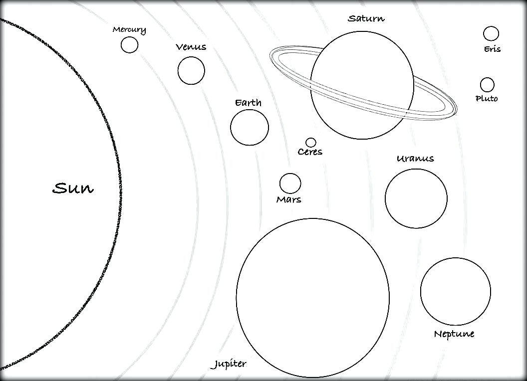 1056x764 Solar System Drawing Tumblr At Getdrawings Com Free For Personal