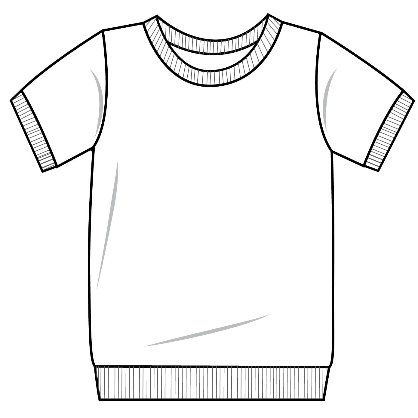T Shirt Drawing Png