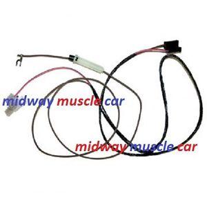300x300 In Dash Tach Tachometer Wire Harness 72 73 Pontiac Trans Am