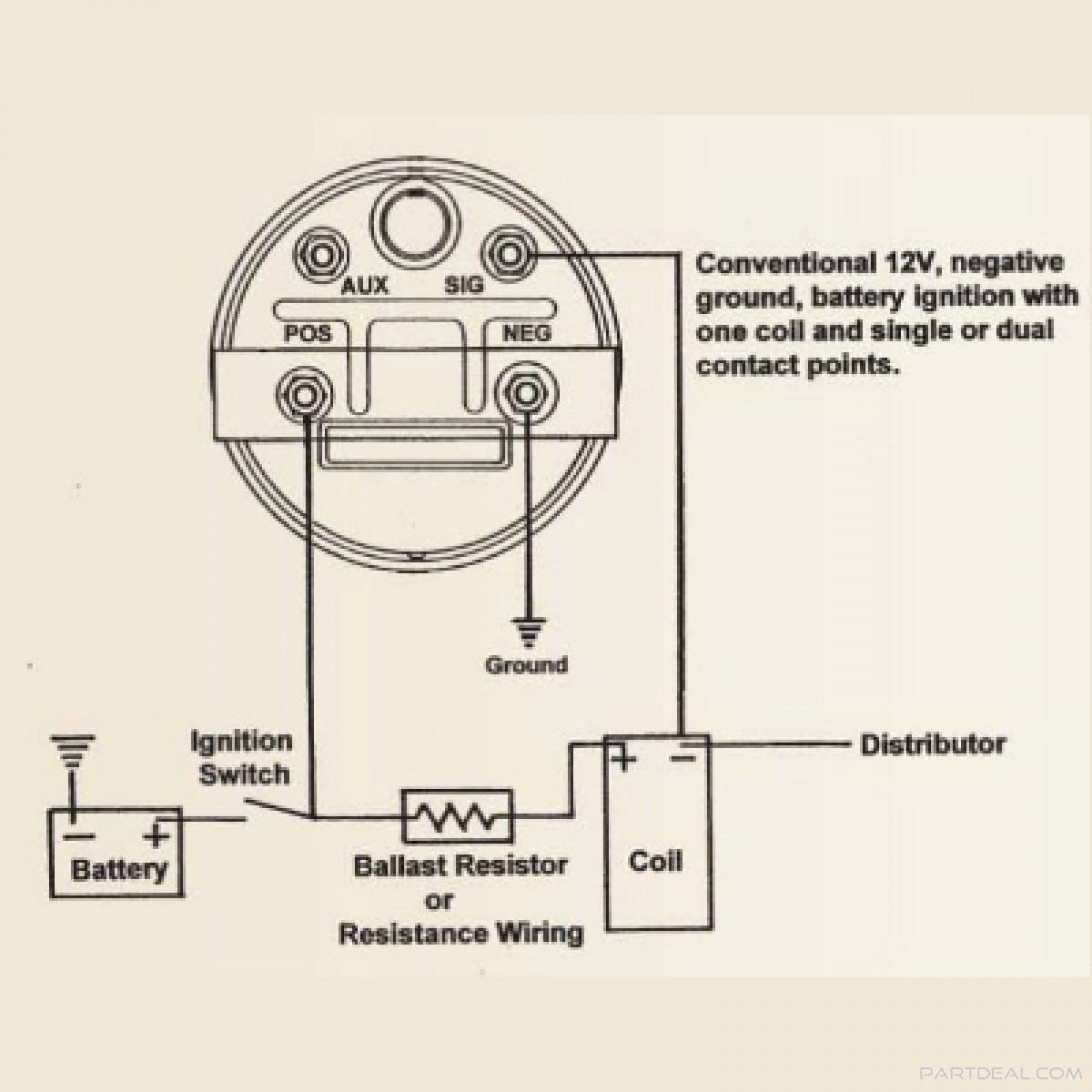 Tachometer Wiring Diagram from getdrawings.com