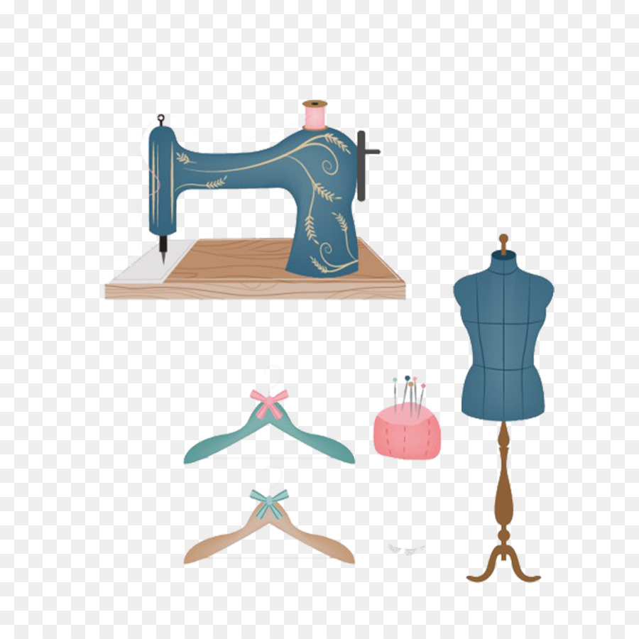 900x900 Sewing Needle Drawing Sewing Machine Clip Art
