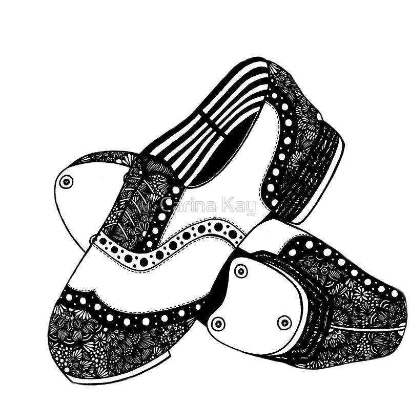 800x789 Drawn Shoe Tap