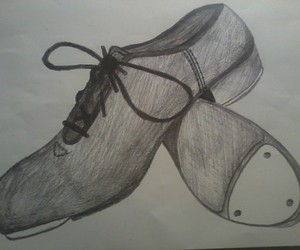 300x250 Collection Of Tap Shoe Drawing High Quality, Free Cliparts