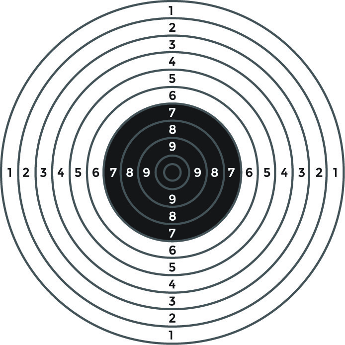694x694 Target Standards For Shooting