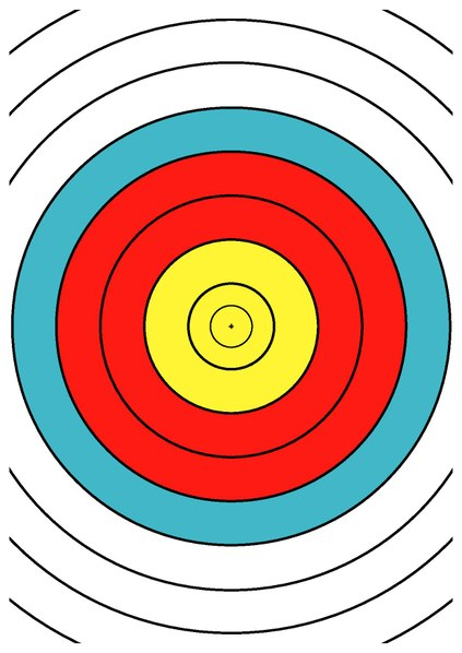 423x598 Filewa 40 Cm Archery Target Center Drawing Dina4.pdf