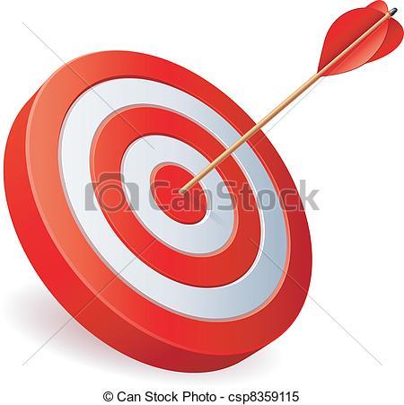 450x451 Target List Clipart