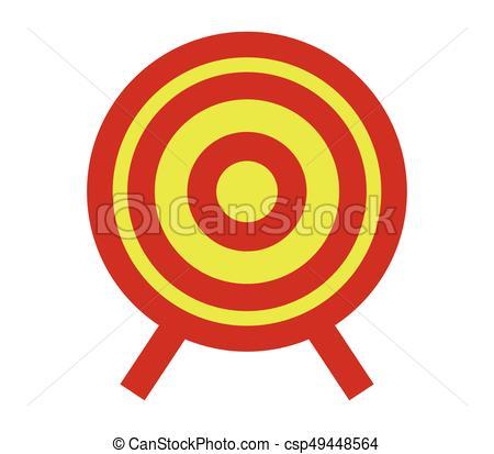 450x413 Target Icon Clip Art Vector