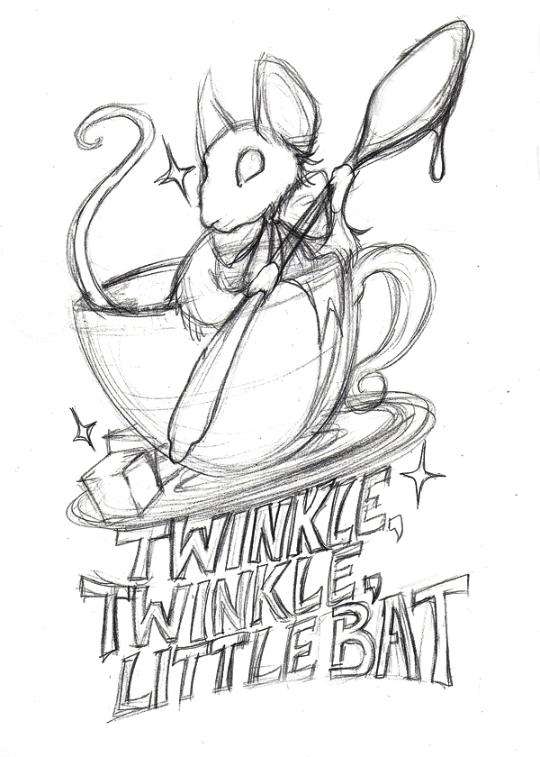 Teapot Drawing Alice In Wonderland