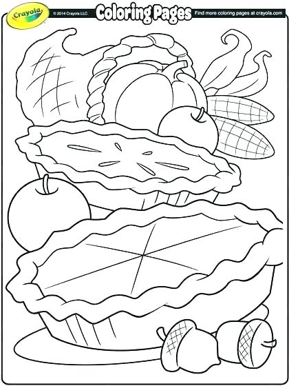 420x560 Free Printable Thanksgiving Food Stencils Menu Template Coloring